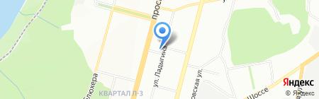 Гидромаг на карте Уфы