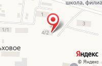 Схема проезда до компании Ольховская сельская библиотека №12 в Ольховом