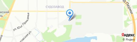 Магнат мебель на карте Перми