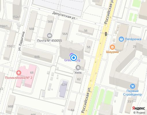 Управляющая компания «Энергия» на карте Уфы