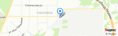 КОРОЗИ на карте Перми