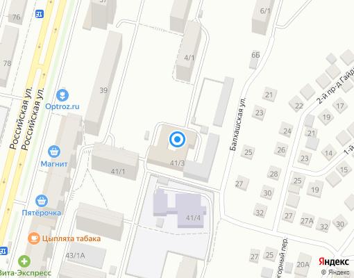 Управляющая компания «УЖХ Октябрьского района ГО г.Уфа РБ» на карте Уфы
