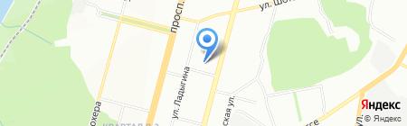 Драйв на карте Уфы