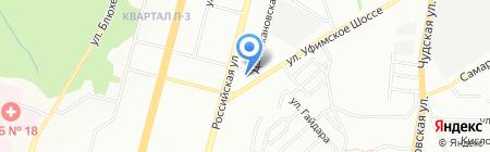 АТН-Уфа на карте Уфы