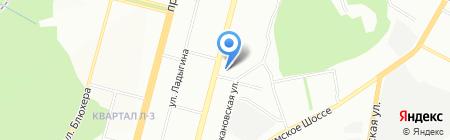ПриФиТа на карте Уфы