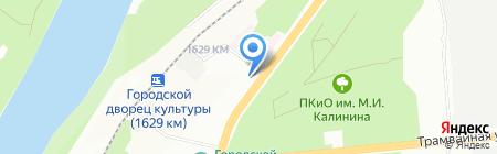 Урал-СервисПлюс на карте Уфы