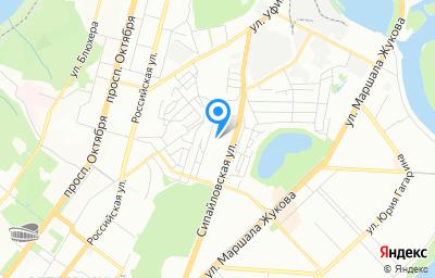 Местоположение на карте пункта техосмотра по адресу г Уфа, ул Сипайловская, д 7