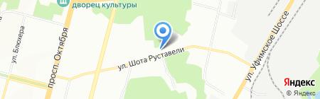 Елена на карте Уфы