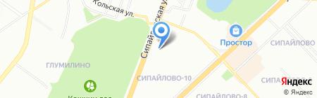 Средняя общеобразовательная школа №29 на карте Уфы