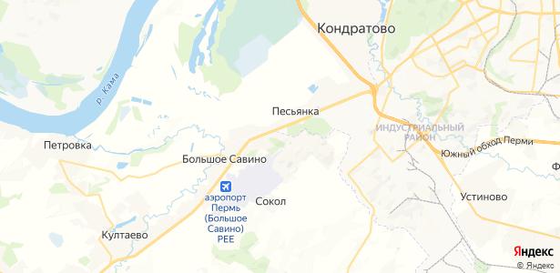 Ванюки на карте