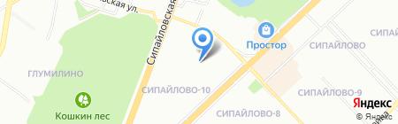 Детский сад №299 на карте Уфы