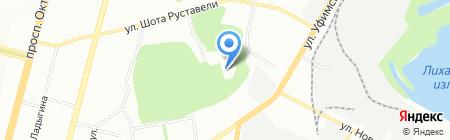 УфаПрофМастер на карте Уфы
