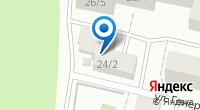 Компания Яблоко на карте