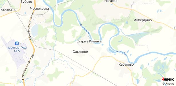 Старые Киешки на карте