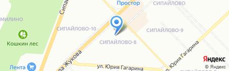 Детский сад №301 на карте Уфы