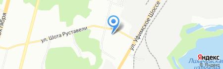 Троллейбусное депо №1 на карте Уфы