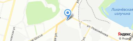 Застолье на карте Уфы
