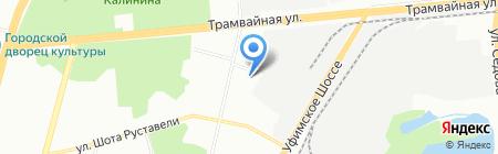 Уфа-Инструмент на карте Уфы