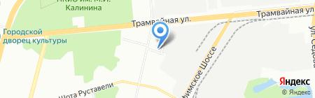 Провиант Ек на карте Уфы