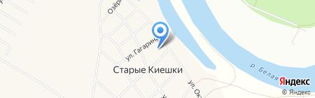 Средняя общеобразовательная школа им. С.Т. Аксакова на карте Старых Киешек
