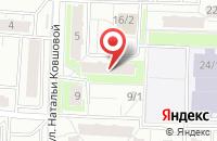 Схема проезда до компании Известия-Пресс в Уфе