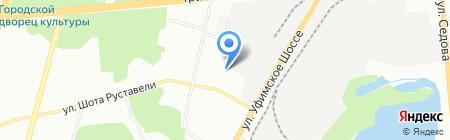 Фирма МИР на карте Уфы