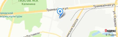 Эльф на карте Уфы