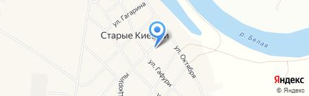 Продовольственный магазин на карте Старых Киешек
