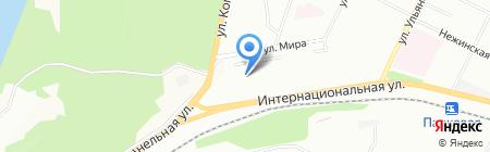 Детский сад №48 на карте Уфы