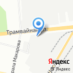 Муниципальное бюджетное учреждение по благоустройству Октябрьского района г. Уфы на карте Уфы
