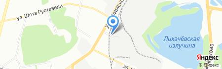 Таганка на карте Уфы