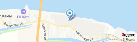 УралПрофМет на карте Берега Камы