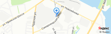 СТОльник на карте Уфы