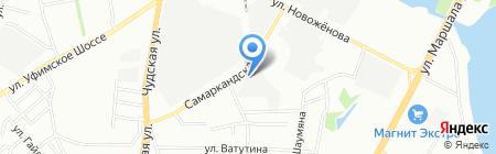 ПартсАвтоГрупп на карте Уфы