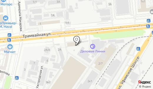БашИнформАудит. Схема проезда в Уфе