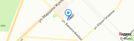 Мята на карте Уфы