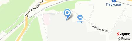 Энергосбыт-Екатеринбург на карте Уфы