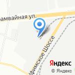 Восток-Сервис-Уфа на карте Уфы