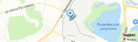 РОВЕН на карте Уфы