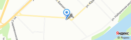 Уралконтракт на карте Уфы