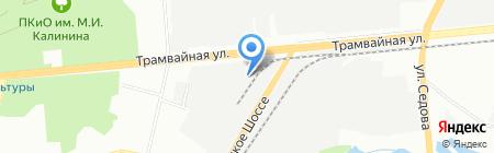 UfaZapravka на карте Уфы