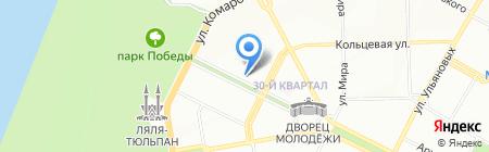 Детский сад №139 на карте Уфы