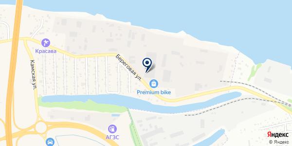 ЭМ-транс на карте Береге Камы