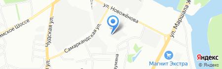 Монарх-Уфа на карте Уфы