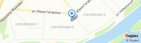 Ихлас на карте Уфы