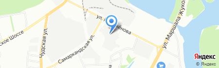 Интер на карте Уфы