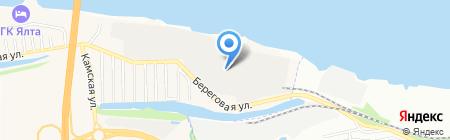 Мечел-Сервис на карте Берега Камы