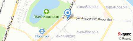 Авто Стиль+ на карте Уфы