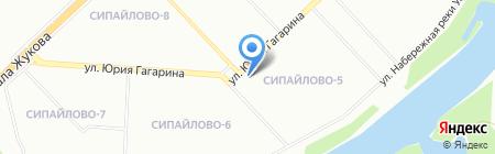 Магазин бытовой техники на карте Уфы