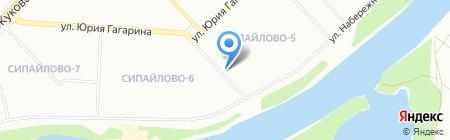 Каравай на карте Уфы